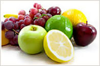 Lemon, Apple, Lime, Grape