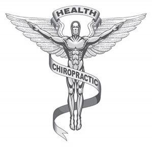 Chiropractic health statue