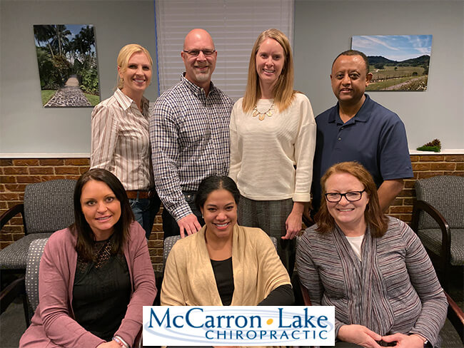 McCarron Lake Chiropractic, St Paul Chiropractor, Group Staff Photo